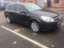Vauxhall Astra Estate Black Auto
