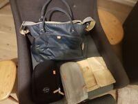 PacaPod Mirano Navy Changing Bag