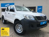 Toyota Hilux 2.5 D-4D Active Double Cab Pickup 2015(65) - Toyota Warranty!