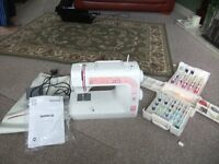 TOYOTA SEWING MACHINE AND ACCESSORIES