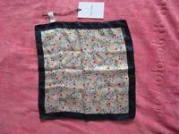 Paul Smith Ltd Edition Silk Pocket Square