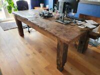 Organic Oak Table