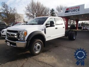 2017 Ford Super Duty F-550 DRW XLT Cab and Chassis, 6.7L Diesel