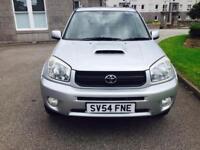 2005 Toyota RAV4 D4D 2L Diesel..4x4...5 Doors..low miles...Full Year MOT..10 Stamp FSH £2250