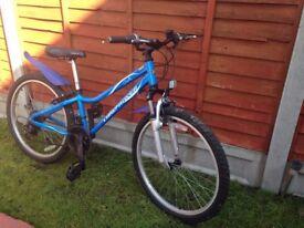 "Boys bike landrover 24"" wheels"