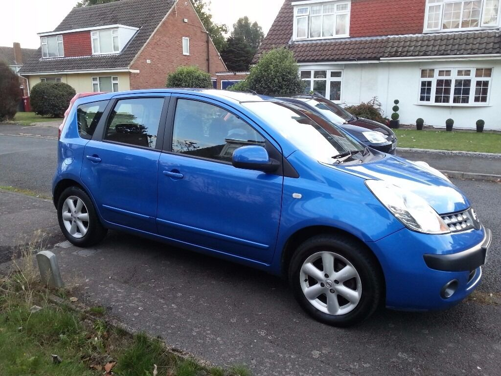 nissan note se 2006 automatic petrol 40 000 miles in slough berkshire gumtree. Black Bedroom Furniture Sets. Home Design Ideas