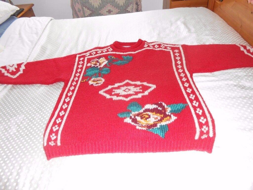Pure Wool Vintage Sweater