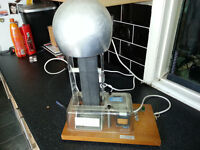 Philip harris Van De Graaff static generator tesla vintage lab machine science