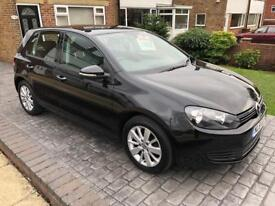 VW GOLF 1.6 TDI BLUEMOTION TECH RECENTLY HAD NEW CAMBELT AND EGR VALVE