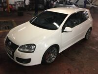 GOLF GTI IN RARE CANDY WHITE FULLY LOADED