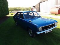 MK1 Hillman - Body and chrome work in excellent condition, full MOT, complete body respray.