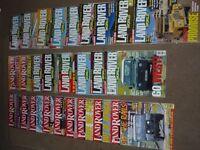 Landrover World magazines