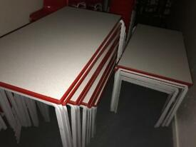 Large number of tables - ACCEPTING OFFERS FOR IMMEDIATE COLLECTION
