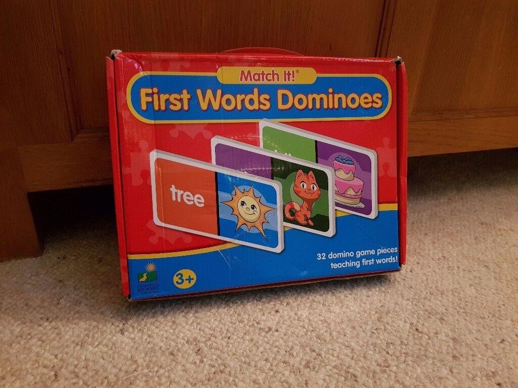 1st words dominoes