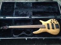 Ibanez SR600 4 String Bass with Hardcase - £300