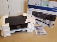 BROTHER DCPJ4120DW All-in-One Wireless A3/A4 Inkjet Printer + Ink cartridges