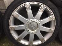 Audi sport alloys and wheels - 235/40/Zr18 x 4