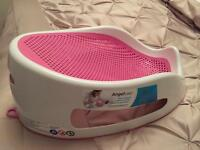 Angelcare pink bath seat support - IMMACULATE