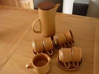 Coffee set - Purbeck pottery