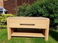 """Hygena """"Strand"""" Oak Effect coffee table"""