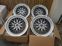 "Brand new 18"" LM style Alloy wheels 5x120 bmw VW"