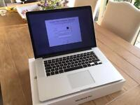MacBook Pro 15-inch retina mid 2012 (MC976B/A)