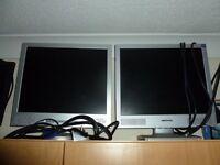 5 Computer LCD monitors