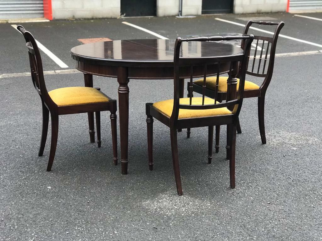 Extendable Dining Table & 3 Chairs | in Dunmurry, Belfast | Gumtree