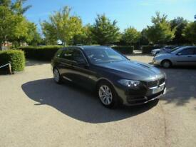 BMW 5 Series 520d SE Touring (grey) 2014