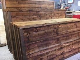 💥New Brown Wayneylap Fence Panels > High Quality < New >
