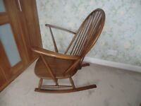 Ercol rocking chair. 1960's