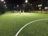Teams wanted at new Islington 5-a-side league on Sundays!