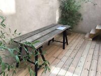 HAND CRAFTED TABLE. IDEAL FOR OUT- AND INDOORS