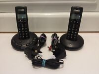 BT Graphite 2500 Twin Cordless Phones and Answering Machine