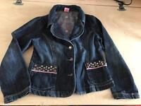 Girls denim jacket age 4