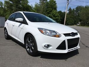 2014 Ford Focus HATCHBACK CUIR MAG SUBWOOFER BLUETOOTH JAMAIS AC