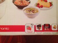 Tefal fuzzyelectronic portable multi cooker.