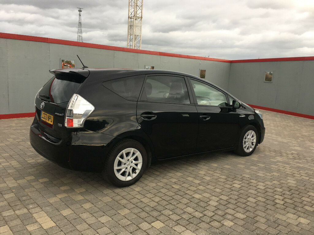 2014 toyota prius plus icon hybrid auto 7 seater uk model car, 1 owner, 83k f/s/h, hpi clear 100%