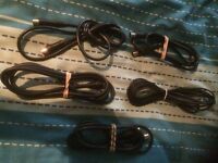 T.V Aerial Coaxial Leads