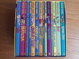 Roald Dahl Children Collection Gift Pack Box Set 15 Books