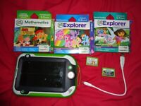 Leap pad with 5 games