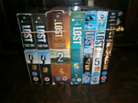LOST complete set, Series 1-6 (DVD) - All used but dvd's all play