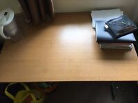 Study Table/Desk (Free Fridge)
