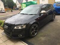 Audi A3 2012 black edition breaking All parts available