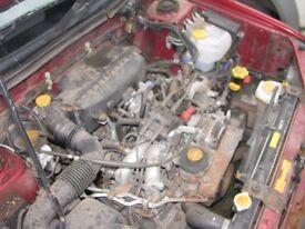 Subaru Impreza 2.0 Non Turbo Engine & Wiring Ideal VW Camper Caddy Converison
