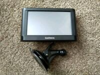 Satnav & windscreen camera