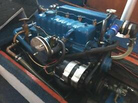 Perkins 4108 Boat engine and gearbox