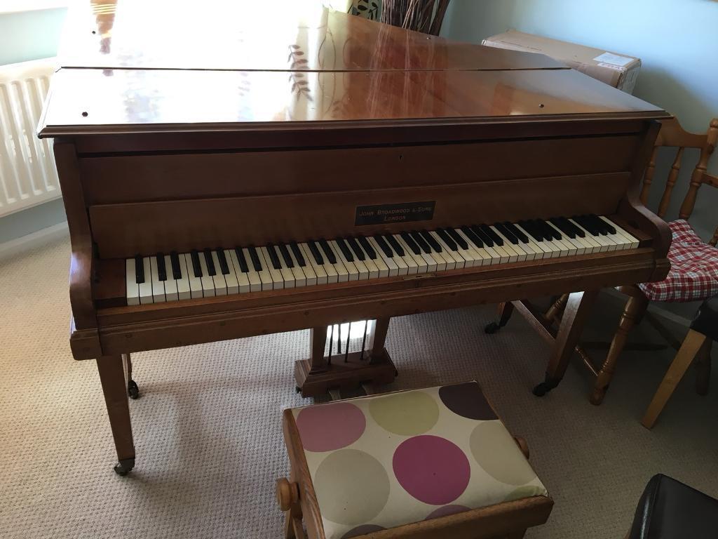 John Broadwood baby grand piano