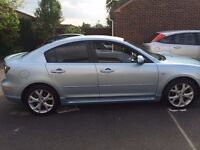 Mazda 3 Sport Saloon BIG Price drop!! as a quick sale needed!!, 73K on the clock
