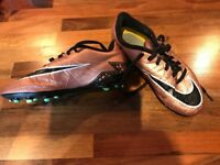 Boys Nike football boots, firm ground, size 3.5
